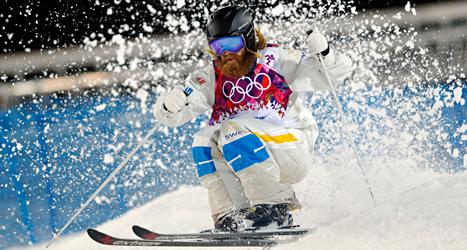 Per Spett tävlade i puckelpist i OS för tredje gången och gjorde sitt bästa resultat. Foto: Sergei Grits /TT