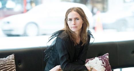 Nina Persson är en av de musiker som protesterar mot att kvinnor glöms bort i musikhistorien. Foto: Leif R Jansson /TT