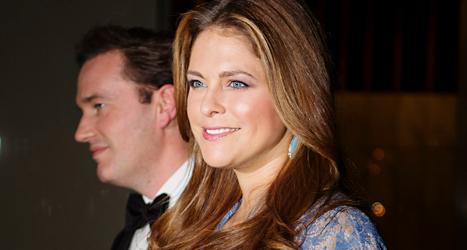 Prinsessan Madeleine och hennes man Chris O'Neill. Foto: Linda Forsell / TT
