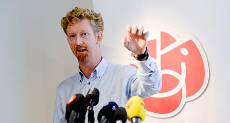 Jan Larsson leder Socialdemokraternas arbete inför valet. Foto: TT.