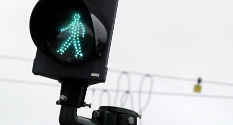 Ijad som bor i Lund vill ha fler trafikljus. Foto: TT