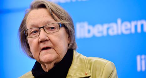 Marit Paulsen från Folkpartiet är en av Sveriges politiker i Europaparlamentet. Foto: TT