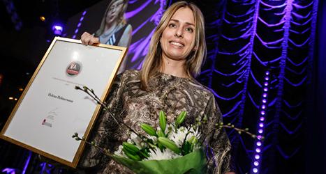 Helena Helmersson arbetar med att göra klädföretaget H&M mera miljövänligt. Foto: Fredrik Persson/TT.