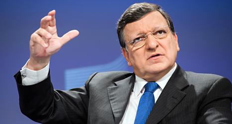 Nu är José Manuel Barroso ledare för EUs regering, Europakommissionen. Foto: AP/TT.