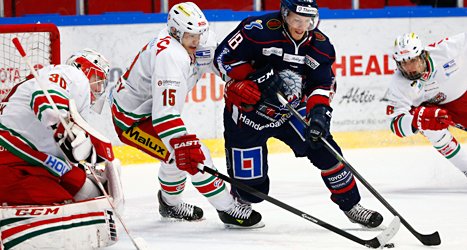 Linköping vann stort mot Modo i ishockey. Foto: Stefan Jerrevång/TT.