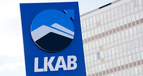 Det går bra för gruvföretaget LKAB. Foto: Henrik Montgomery/TT.