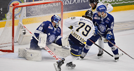 HV17 vann åttondelsfinalen mot Leksand. Foto: Anders wiklund/TT.