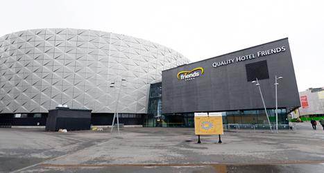 Ett franskt företag ska sköta Friends Arena i Stockholm. Foto: Bertil Enevåg Ericson/TT.