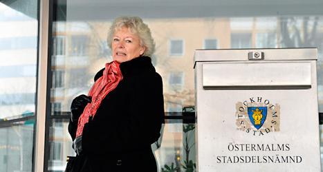 Eva Forsells mamma fick vänta länge på äldreboende. Foto: Anders Wiklund/TT.
