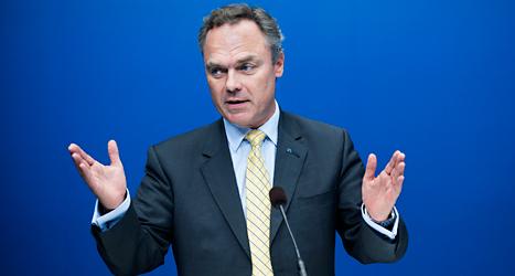 Jan Björklund är Sveriges utbildningsminister. Foto: Lars Pehrson/TT.