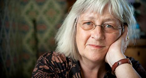 Barbro Lindgren får världens största bokpris till författare som skriver för barn. Foto: Dan Hansson/TT.