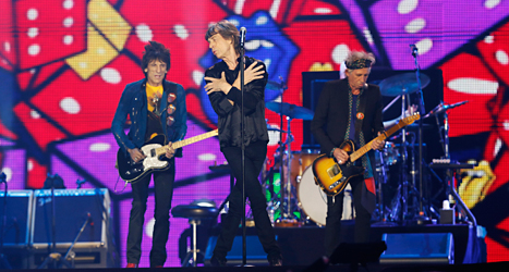 Rolling Stones kommer till Sverige i sommar. Foto: Shizuo Kambayashi/TT