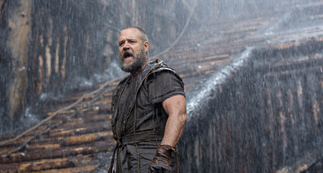 Russell Crowe spelar Noah i en ny film. Foto: Niko Tavernise/Paramount Pictures/AP/TT