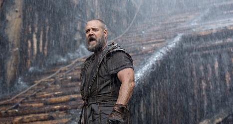 Russell Crowe spelar Noah i en ny film. Foto: Niko Tavernise/Paramount Pictures/AP/TT