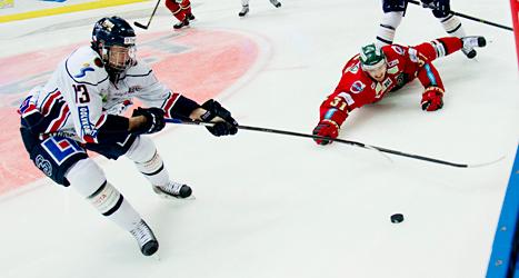 Linköping vann matchen mot Frölunda med 2-0. Foto: Adam Ihse/TT.