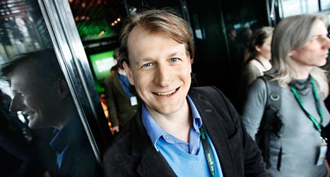 Carl Schlyter är politiker i Europaparlamentet. Foto: TT