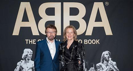 Björn Ulvaeus och Anni-Frid Lyngstad var med i gruppen Abba. Foto: Mark Earthy/TT.