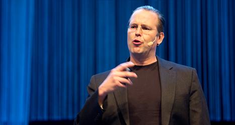 Anders Borg är den i regeringen som har ansvar för pengar. Foto: TT