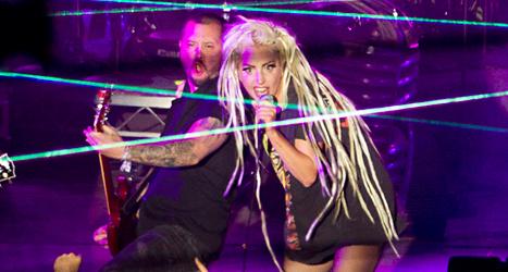 Lady Gaga kommer till Sverige i höst. Foto: Jay Janner/TT.
