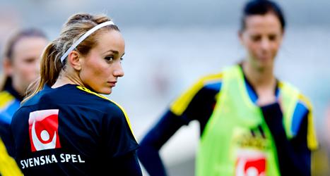 Kosovare Asllani är en av Sveriges bästa spelare. Foto: Adam Ihse/TT.