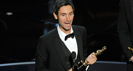 Malik Bendjelloul fick en Oscar för sin film Searching for Sugar Man. Foto: Chriss Pizzello/AP/TT.