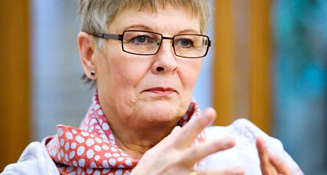Maud Olofsson var förut Sveriges näringsminister. Foto: Leif R Jansson/TT.