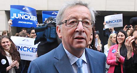 Jean-Claude Juncker kan bli ny ledare för EUs regering. Foto: Yves Logghe /TT