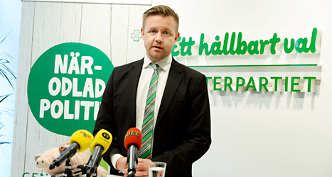 Många av Centerns väljare gillar Fredrick Federley. De vill att han ska bli partiets politiker i EU. Foto: TT
