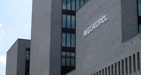 De europeiska poliserna i Europol har sitt kontor i Holland. Foto: TT