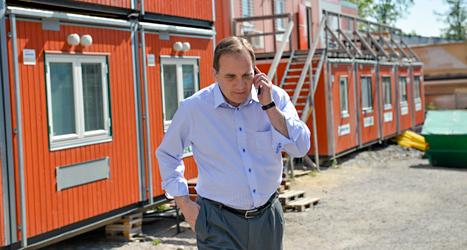 Socialdemokraternas ledare Stefan Löfven vill att EU ska tänka mer på arbetare. Foto: TT