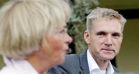Många röstade på Pia Kjaersgaard och Kristian Thulesen Dahls parti Dansk folkeparti i EU-valet. Foto: AP/TT