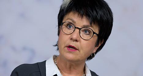 Eva-Lis Sirén på Lärarförbundet kräver att reglerna ändras. Nazister ska inte få besöka skolor. Foto: TT
