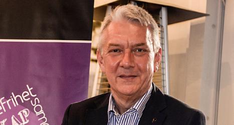 Piratpartiets Christian Engström hade nog varit gladare om tonåringar fått rösta. Foto: TT