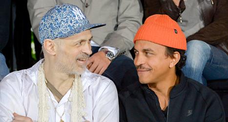 Musikerna Christian Falk och Timbuktu är två av dem som ska prata i programmet Sommar. Foto: Janerik Henriksson /TT