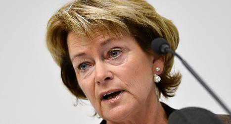 Kulturminister Lena Adelsohn Liljeroth vill att ett privat företag ska göra den lättlästa tidningen 8 Sidor. Foto: TT