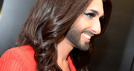 Conchita kommer till Pridefestivalen i Stockholm i sommar. Foto: Walter Bier/TT.