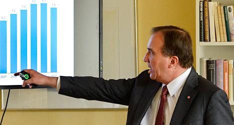 Stefan Löfven är ledare för Socialdemokraterna. Foto: Anders Wiklund/TT.