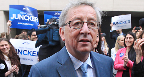 Jean-Claude Juncker blir EU-kommissionens nya ledare.  Foto: Yves Logge/TT.