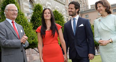 Prins Carl-Philip ska gifta sig med Sofia Hellquist. Foto: Jonas Ekströmer/TT.