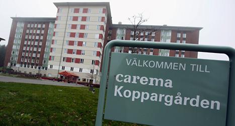Carema är ett av företagen som betalar lite skatt. Foto: TT