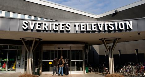 Sveriges Television, Sveriges Radio och Utbildningsradion ägs av staten. Foto: TT