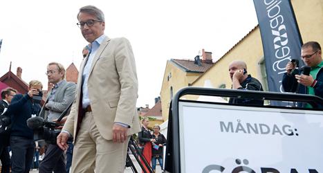 I kväll håller Kristdemokraternas ledare Göran Hägglund tal i Almedalen. Foto: TT