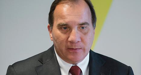 Socialdemokraternas ledare Stefan Löfven.Foto: Vilhelm Stokstad/TT