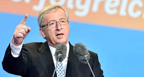 Jean-Claude Juncker från Luxemburg. Foto: TT