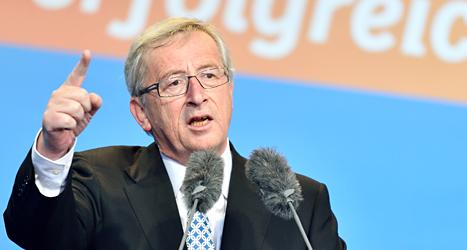 Jean-Claude Juncker är EUs nya ledare. Foto: Uwe Anspach/TT.