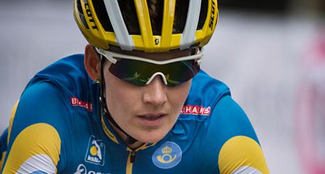 Emma Johansson vann en tävling i Nederländerna. Foto: TT.