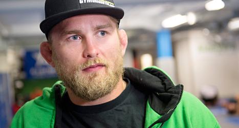 Alexander Gustafsson är skadad och missar sin VM-match. Foto: Izabelle Nordfjell/TT.