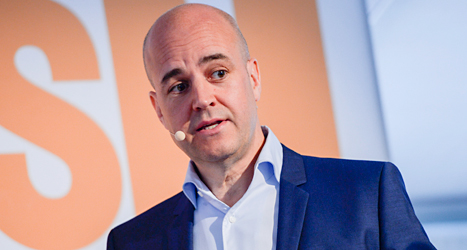 Fredrik Reinfeldt vill att hans parti Moderaterna ska göra mer för homosexuella och transpersoner. Foto: TT