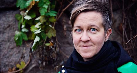 Ulrika Westerlund är ledare för föreningen RFSL. Foto: TT