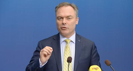 Folkpartiets ledare Jan Björklund vill ha bättre ordning i skolan. Foto: Bertil Enevåg Ericsson /TT